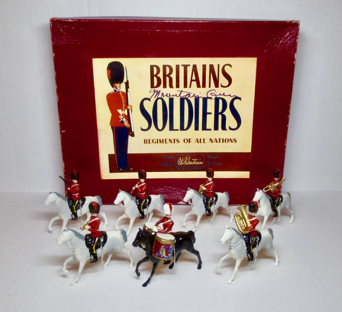 Britains Set #9312 Royal Scots Greys Band