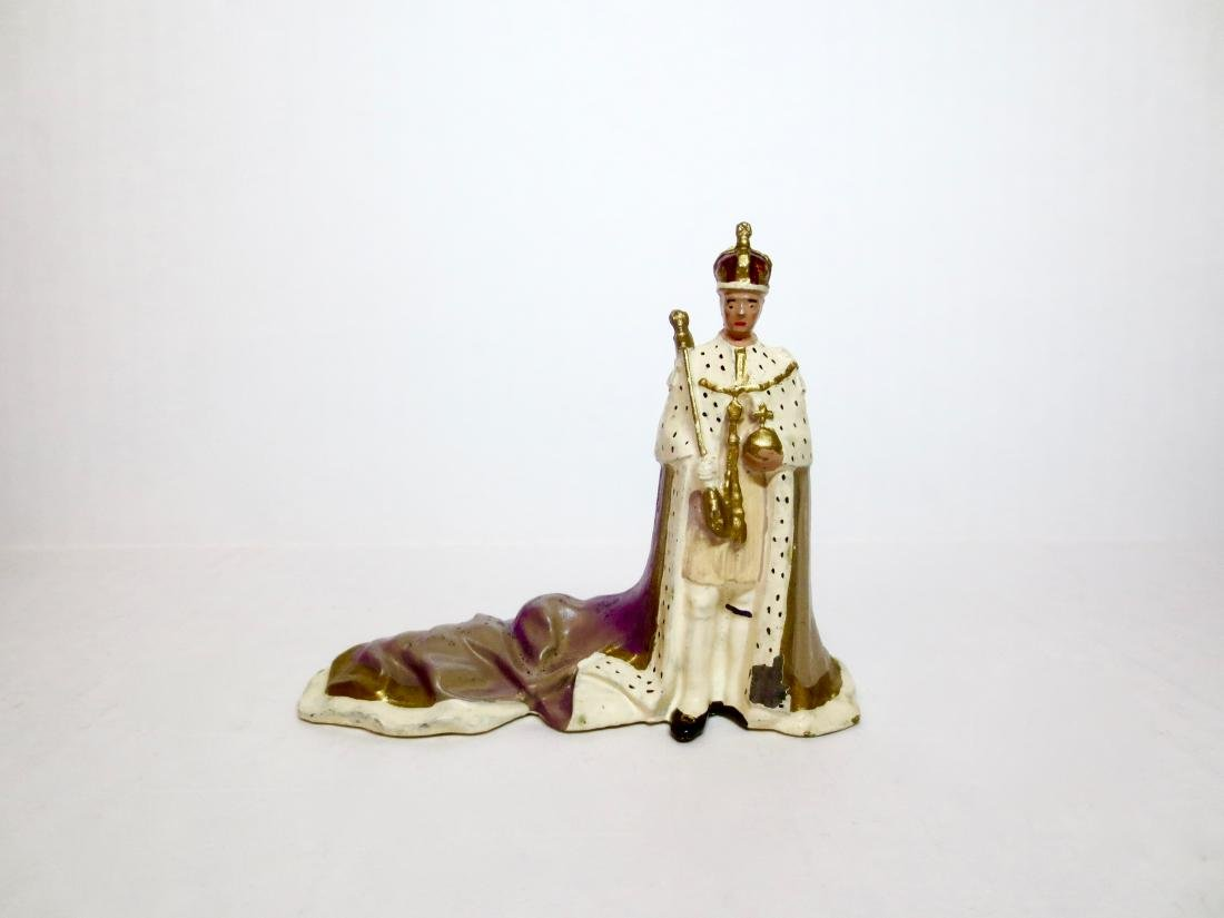 Britains #1473 King George VI Coronation Figure