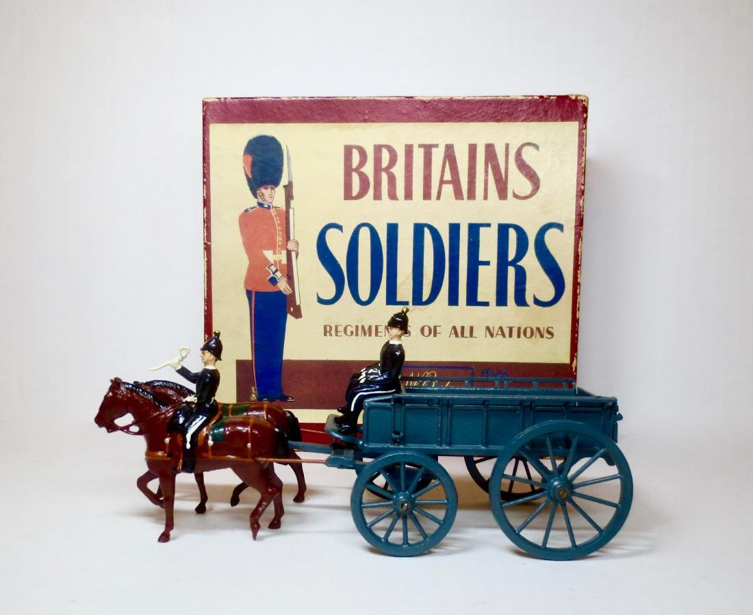 Britains set #146 Royal Army Service Corps Wagon