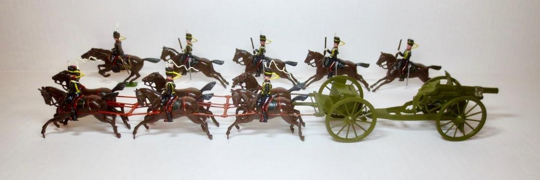Britains Set #39 Kings Troop RHA at the Gallop
