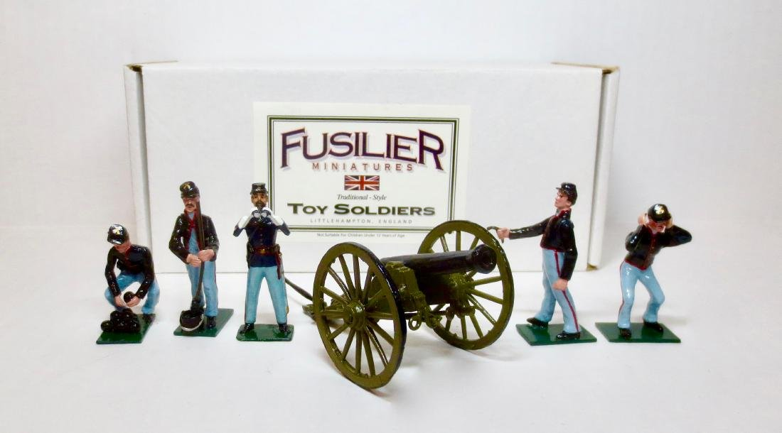 Fusilier Civil War Union Artillery Crew