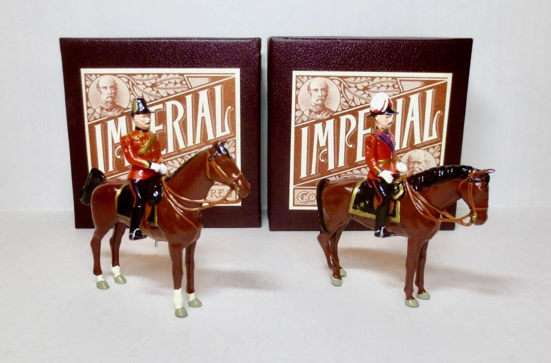 Imperial #21 & #22 British Army Figures, 1900