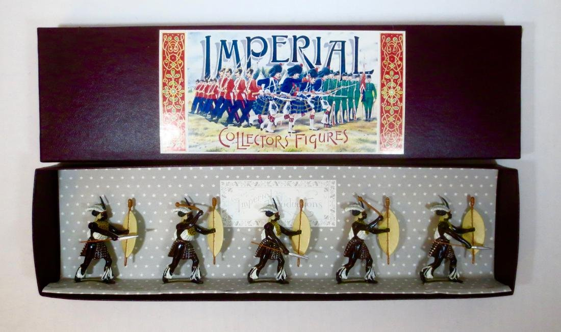 Imperial Set #30 uThulwana Zulu Regiment, 1879