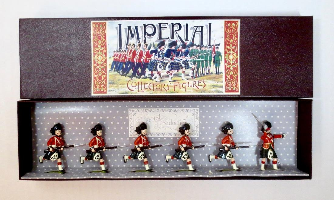 Imperial Set #13a The Black Watch Charging, 1895