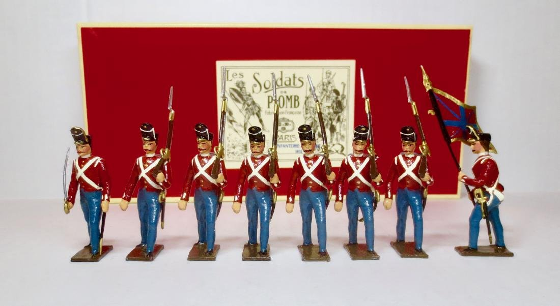 Mignot Infanterie Anglaise, 1812 Set