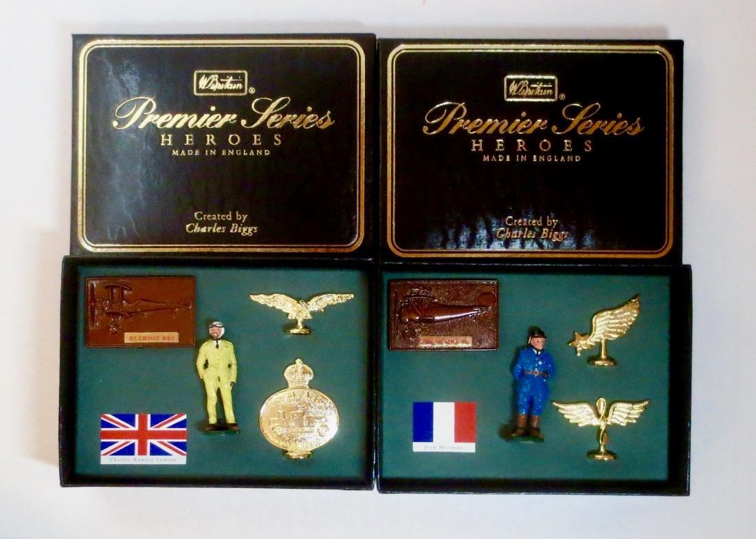 Britains Premier Series Heroes #8932 and #8933