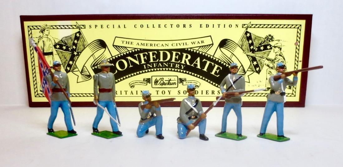 Britains Set #8851 Confederate Infantry