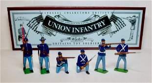 Britains Set 8852 Union Infantry