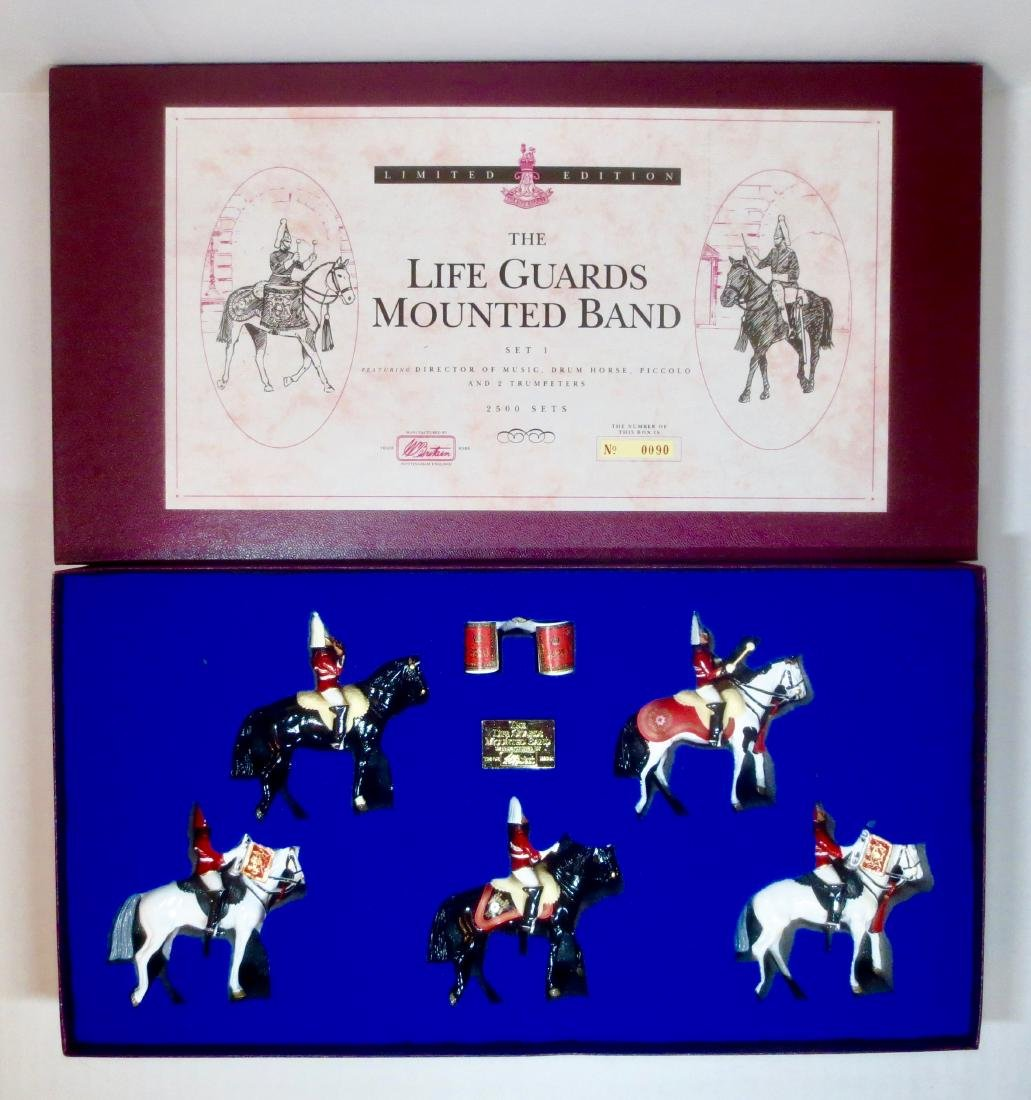 Britains Set #5195 The Life Guards Mounted Band