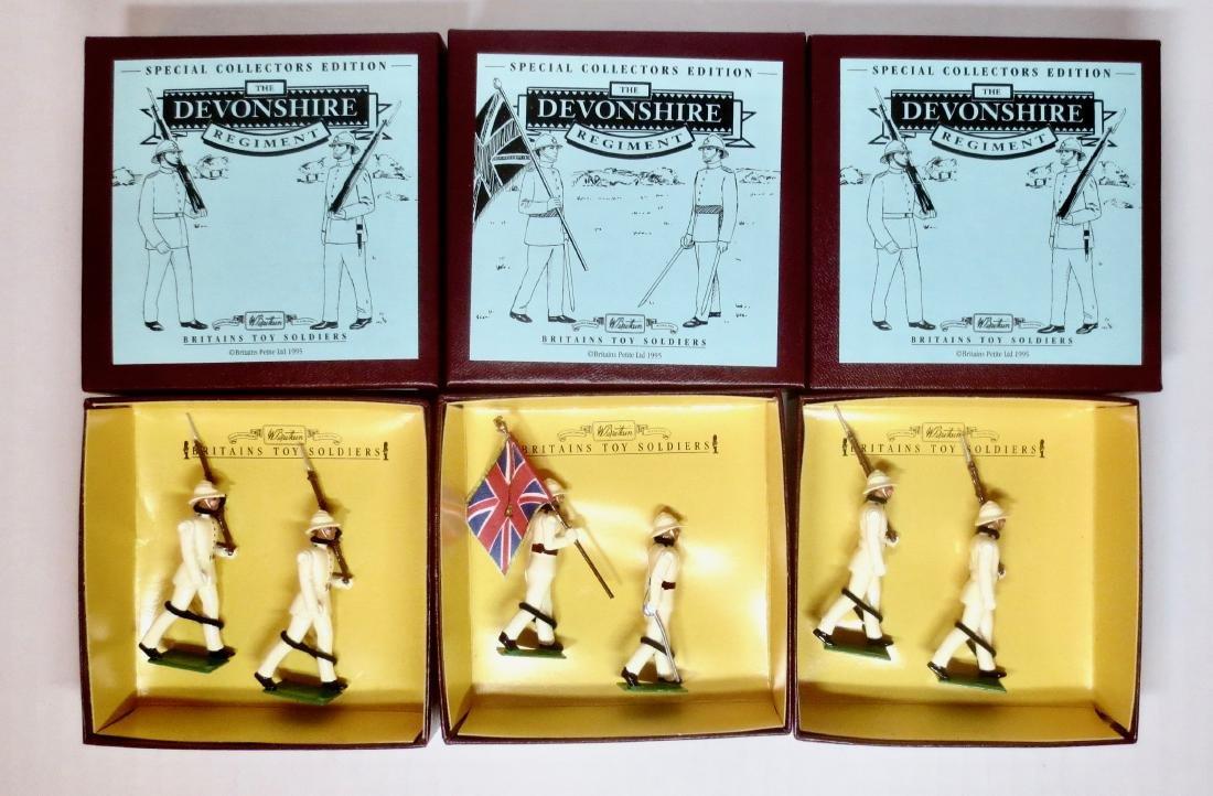 Britains Set #8864 & #8866 Devonshire Regiment