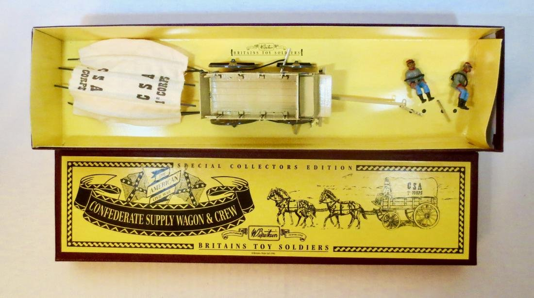 Britains Set #8870 Confederate Service Wagon