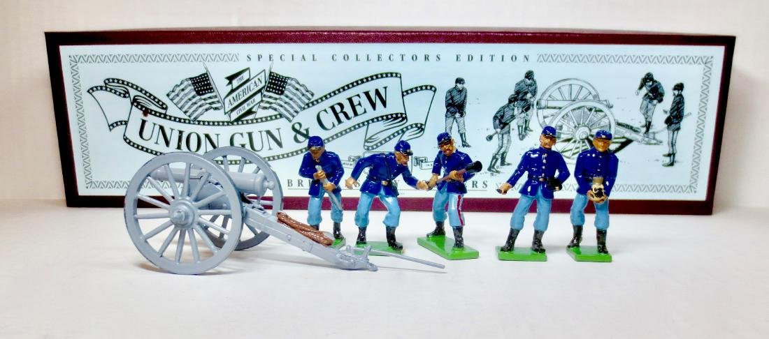 Britains Set #8875 Union Gun & Crew