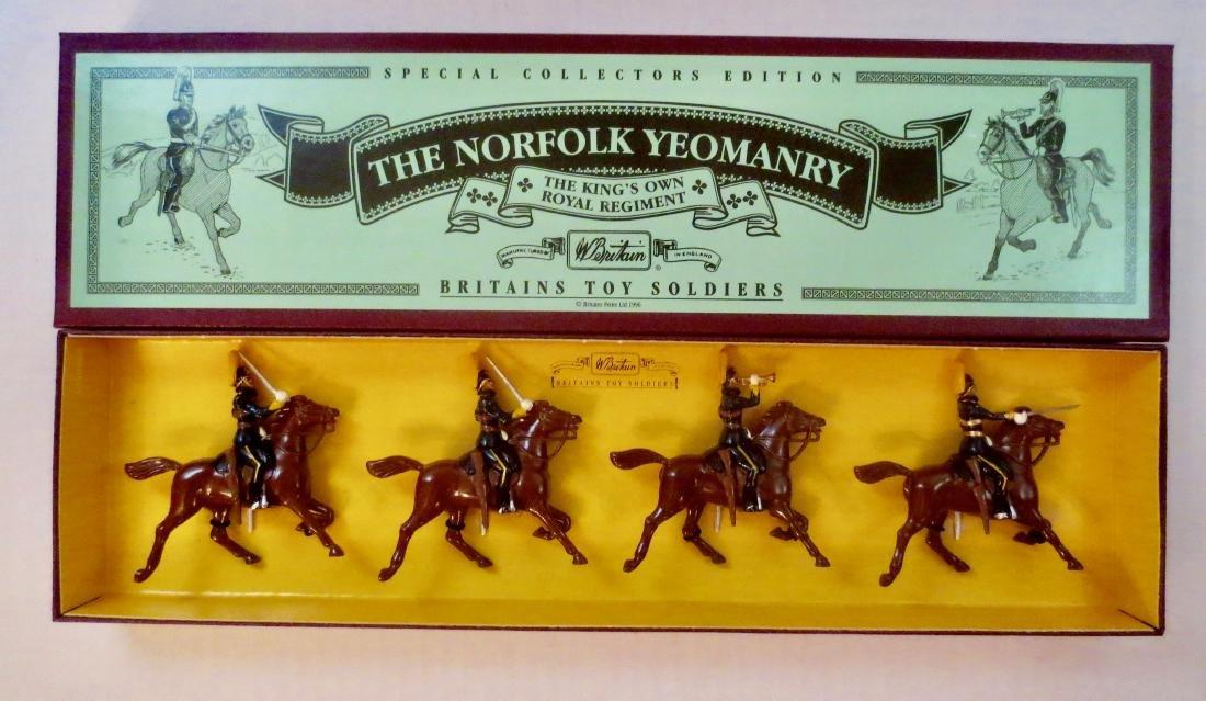 Britains Set #8892 The Norfolk Yeomanry