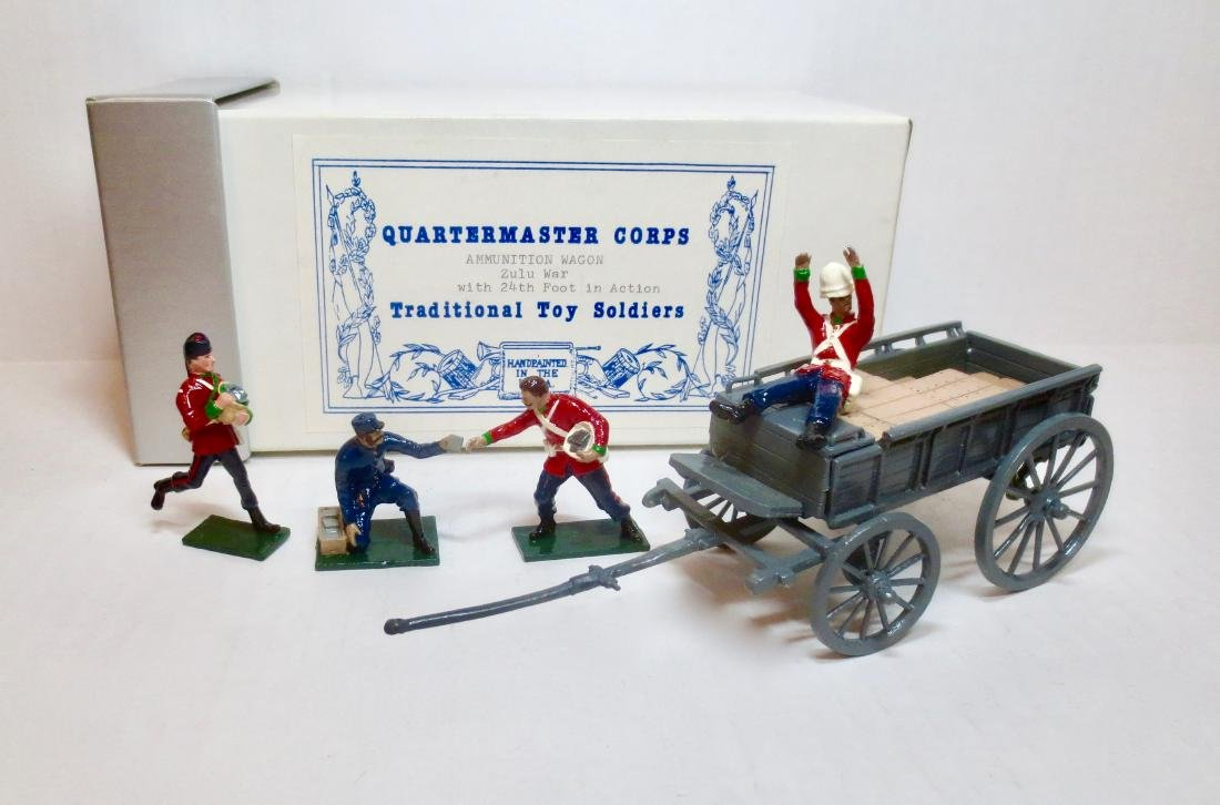 Quartermaster Corps Ammunition Wagon Zulu War
