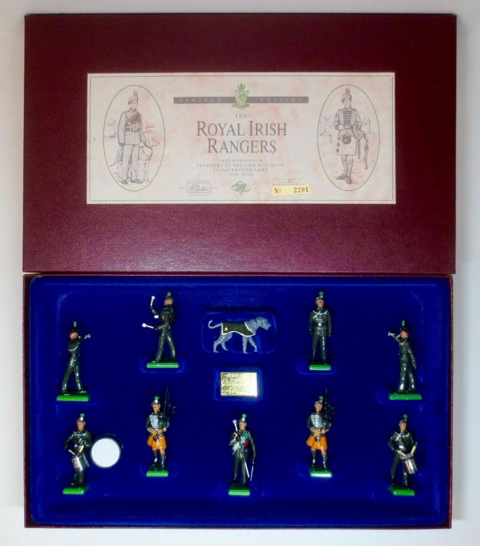 Britains Set #5192 The Royal Irish Rangers