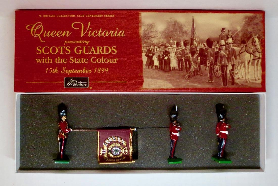 Britains Set #5991 Scots Guards Colour Party