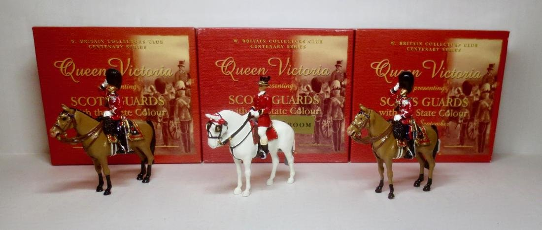 Britains Set #5993 and #40205 Scots Guards