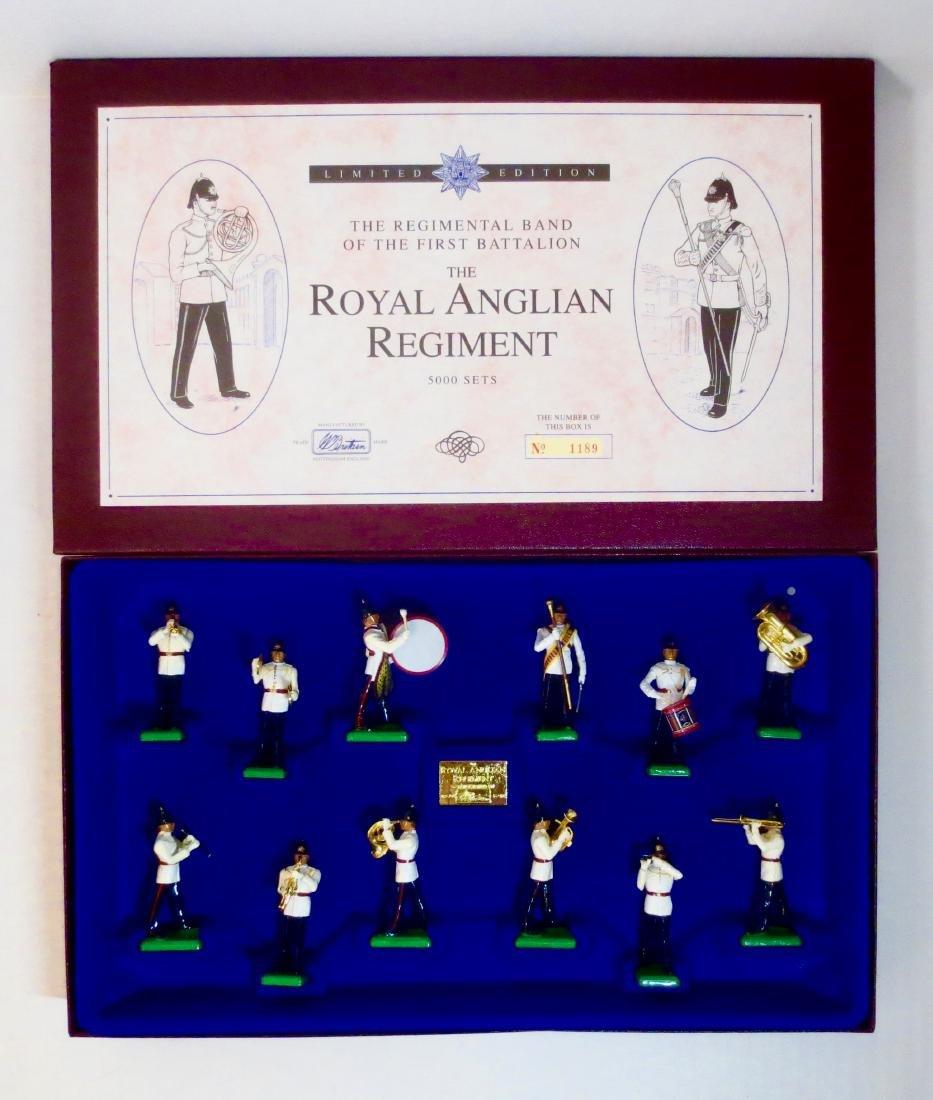Britains Set #5294 The Royal Anglian Regiment