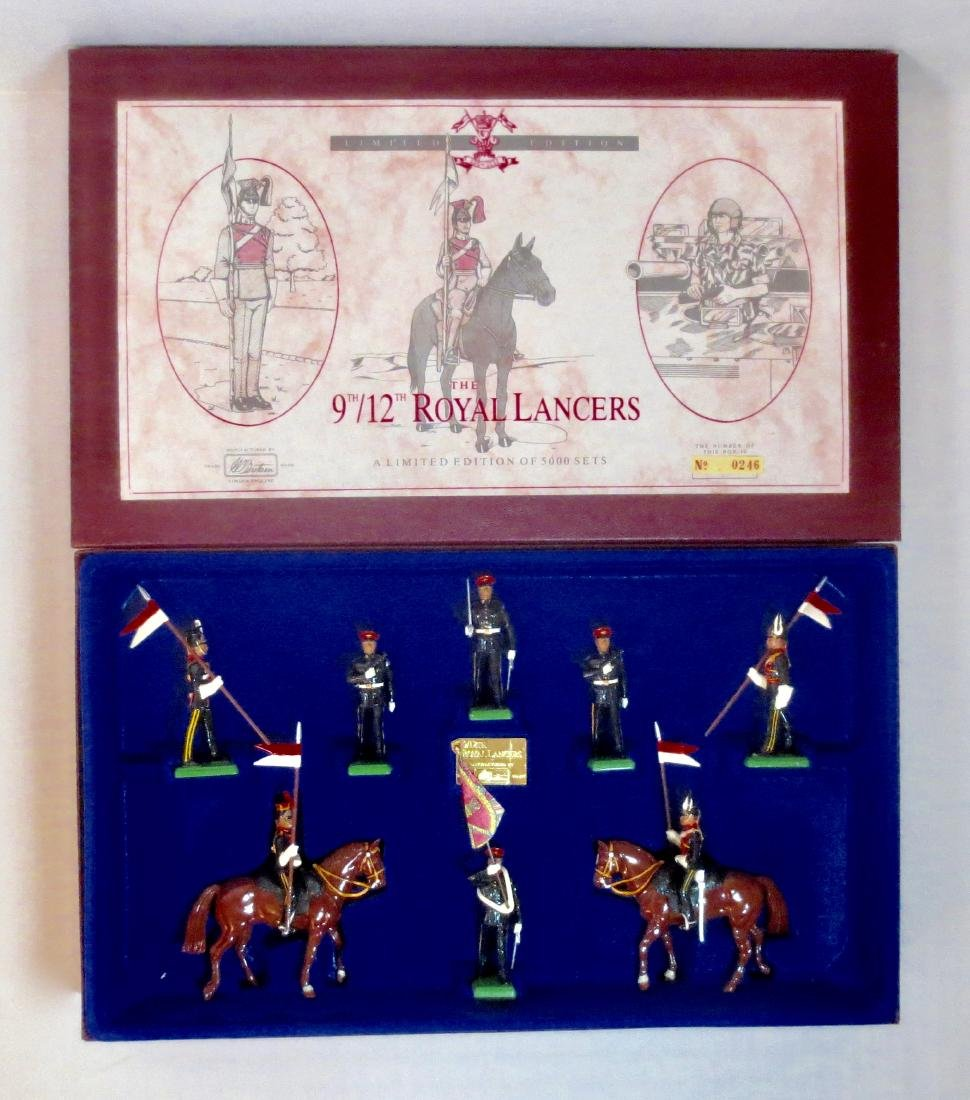 Britains Set #5392 The 9th/12th Royal Lancers