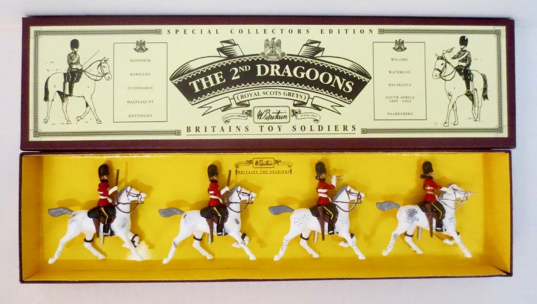 Britains Set #8850 The 2nd Dragoons