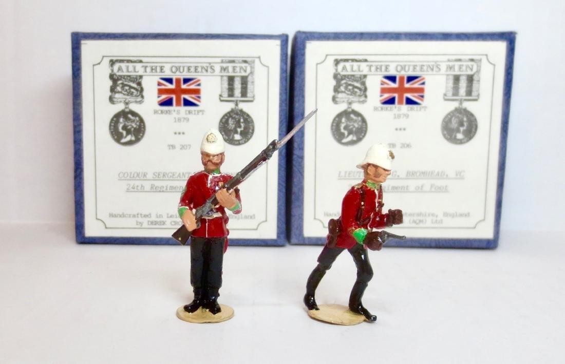 All The Queen's Men #TB206 & TB207