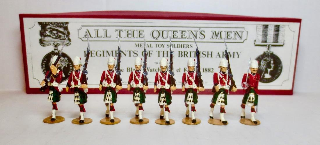 All The Queen's Men Set #TB155 The Black Watch