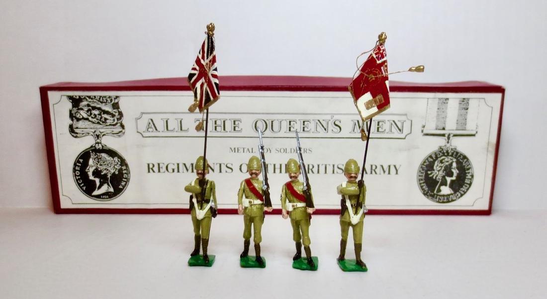 All The Queen's Men Boer War Colour Party Set