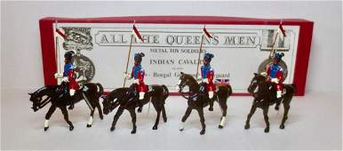 All The Queens Men Set TB203A Indian Cavalry