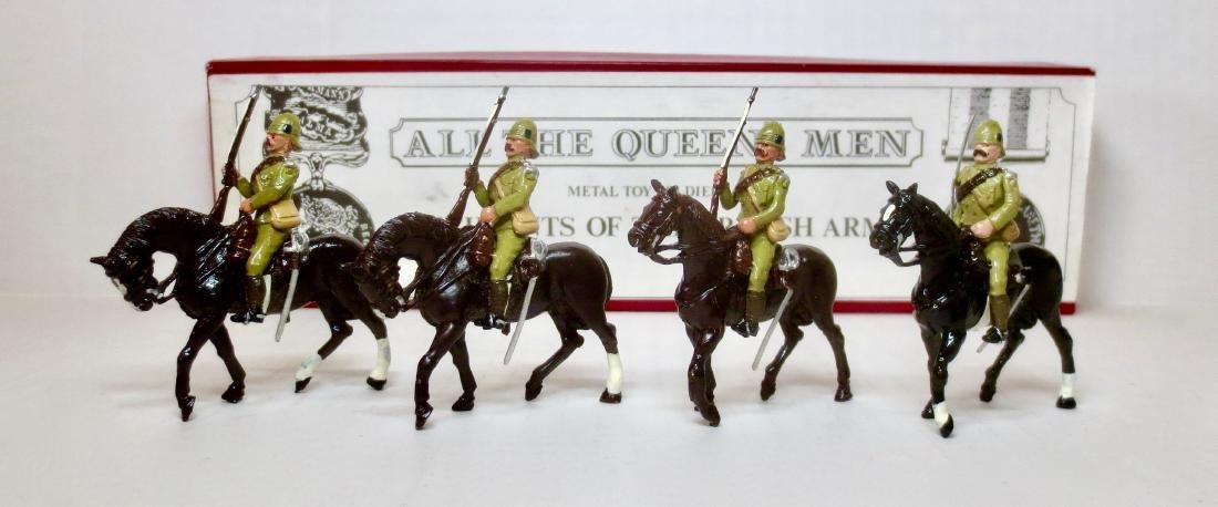 All The Queen's Men Set #TB72 Boer War Cavalry