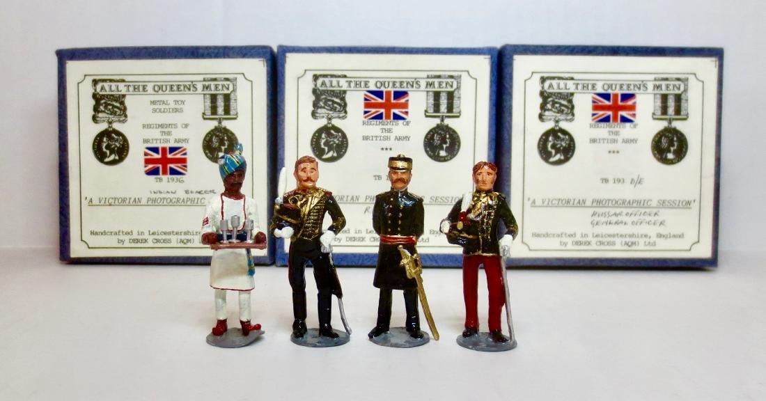 All The Queen's Men #TB193D/E, TB193F, & TB193G