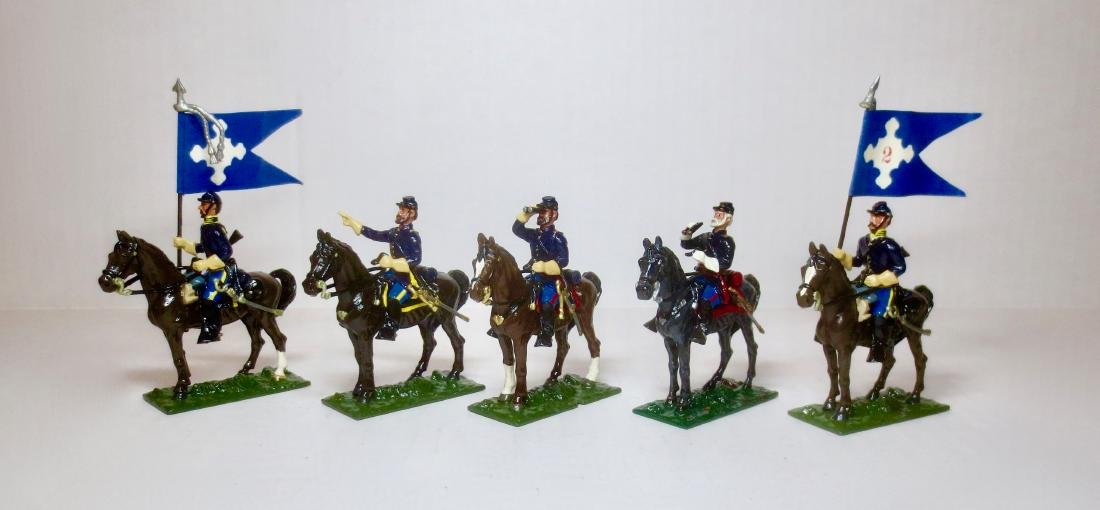 Bussler ACW Union Mounted Cavalry