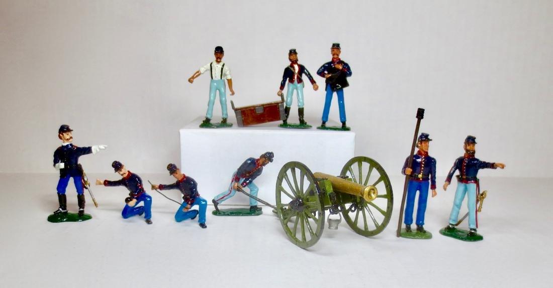 Bussler ACW 12 Pdr. Union Gun & Crew