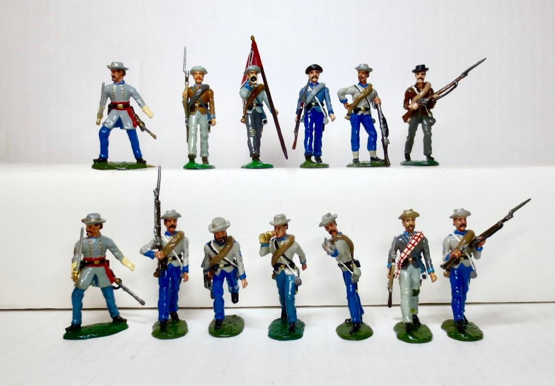 Bussler ACW Confederate Infantry
