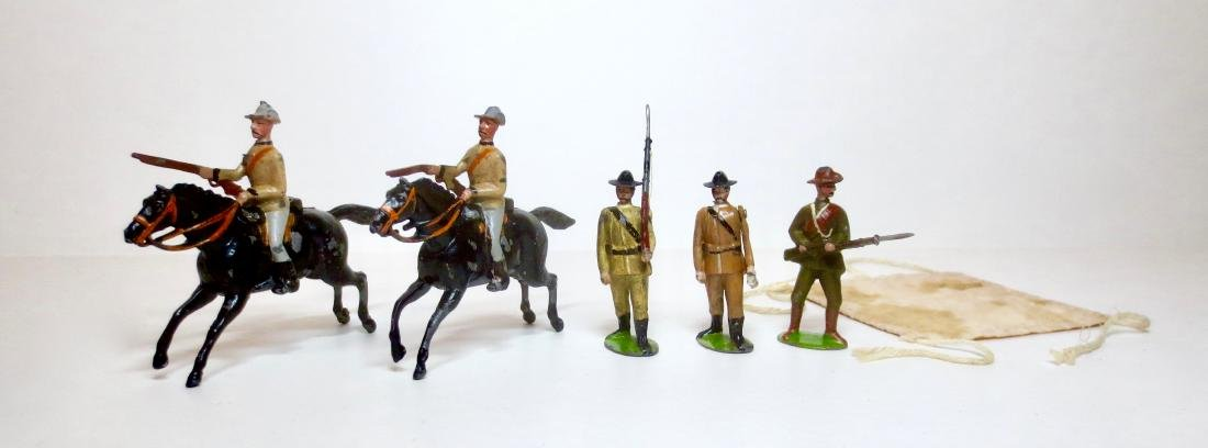 Britains Rare Boer War Assortment