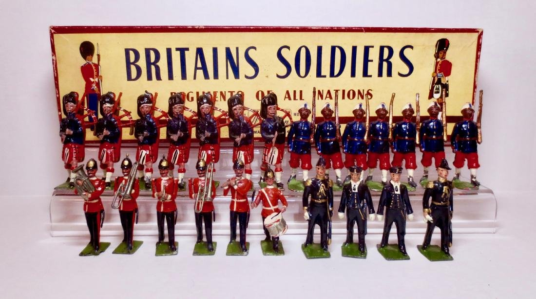 Britains Assortment with Set 212 Box