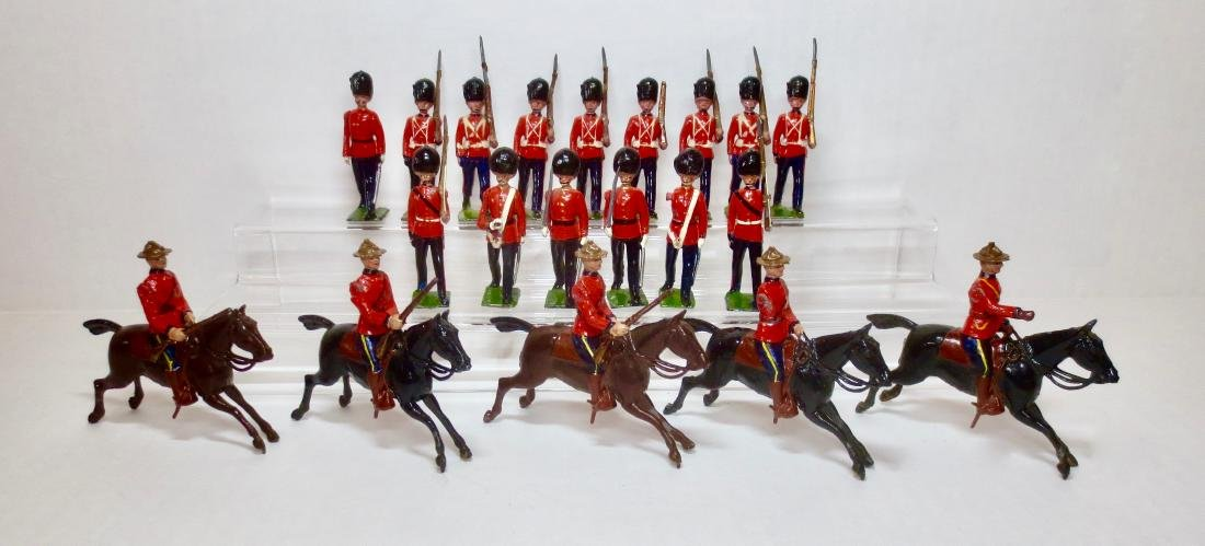Britains Guards and RCMP Assortment