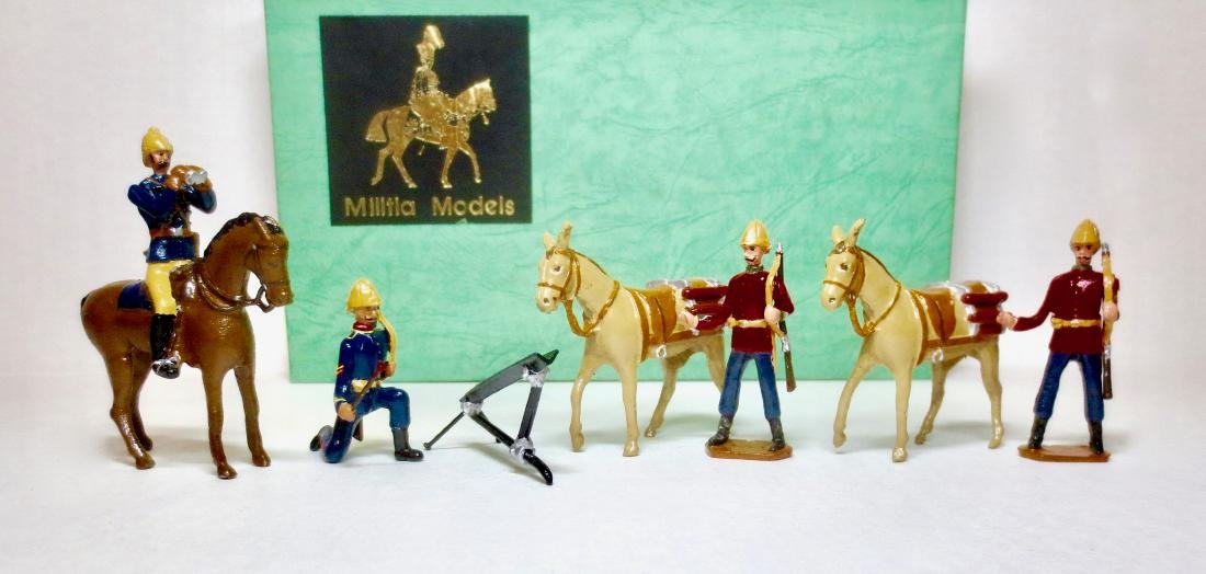 Militia Models Hale's Rocket Troop
