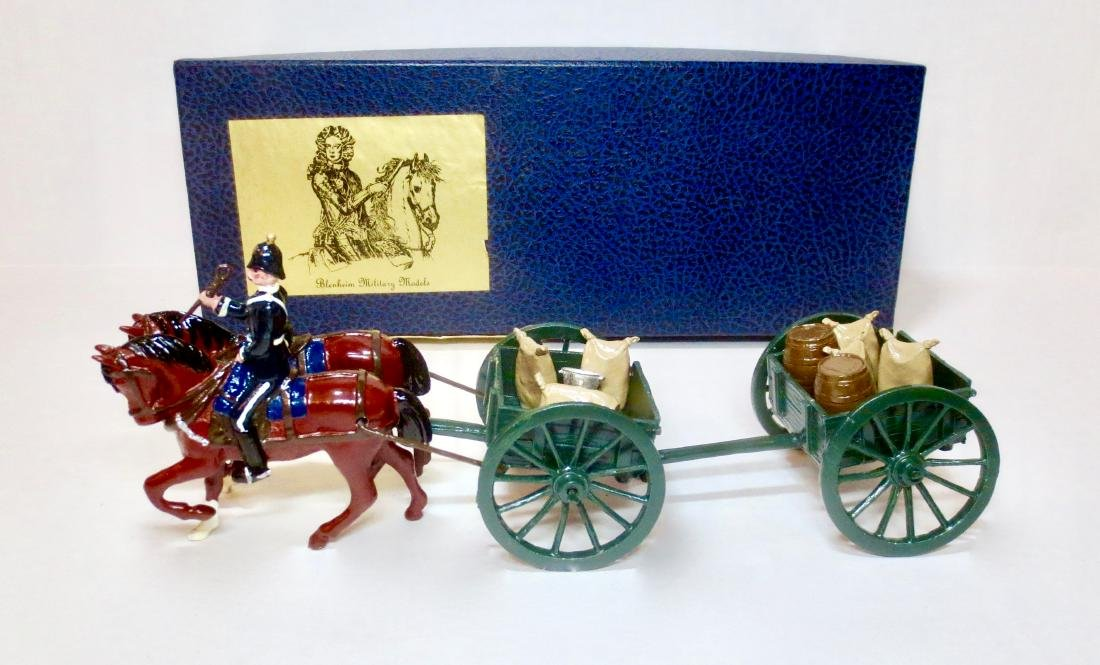 Blenheim Set #E6 Limbered Wagon Of The Army
