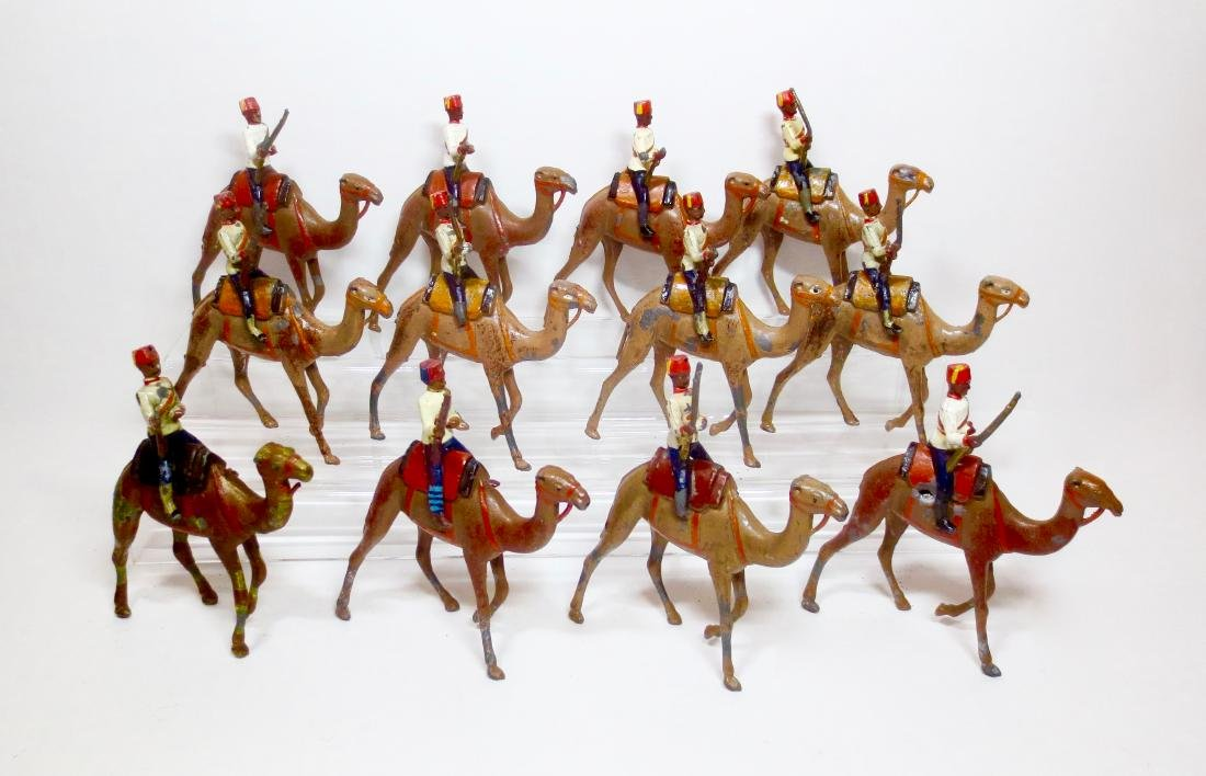Britains Egyptian Camel Corps From Set #48