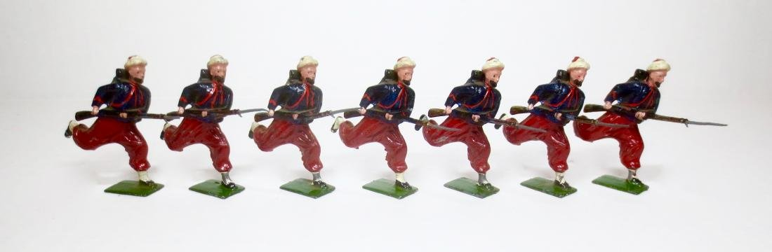 Britains From Set #142 Zouaves Charging