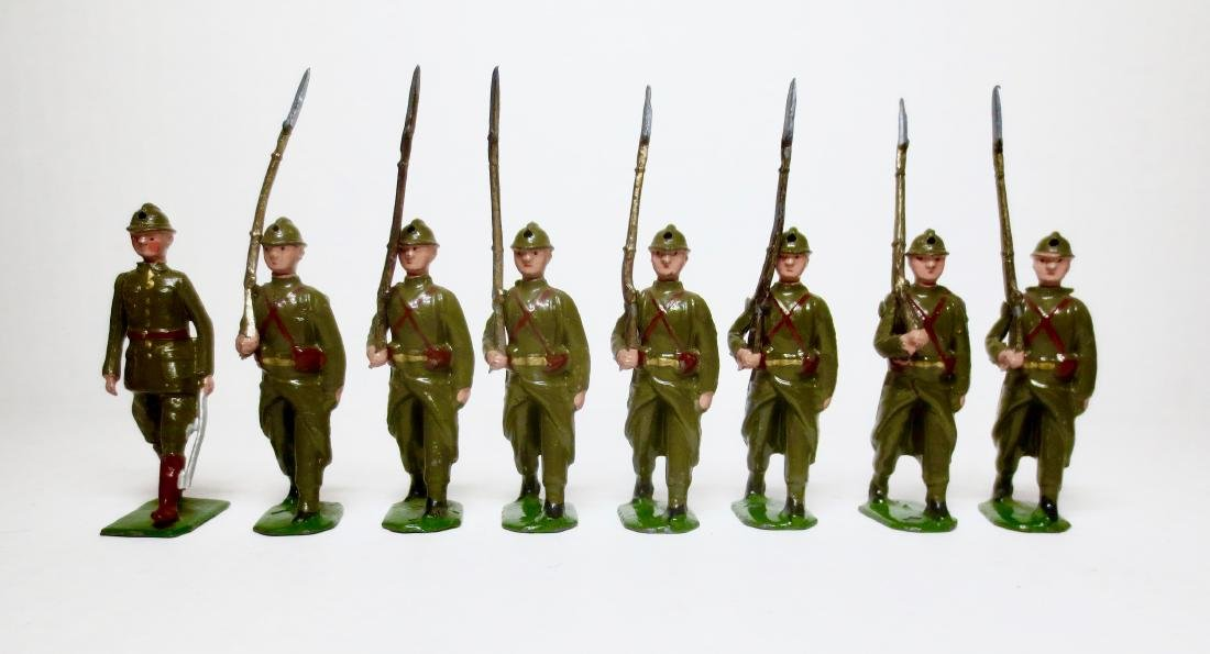 Britains Set #1389 Belgian Infantry with Officer