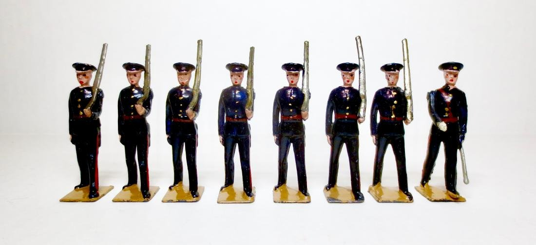 Britains Set #1537 Territorials Marching Slope Arms