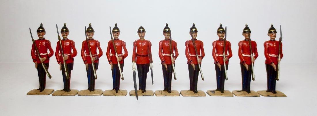 Britains From Set #206 Warwickshire Regiment