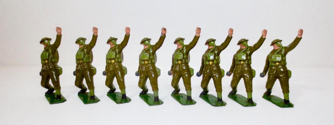 Britains Set #1612 British Infantry In Gas Masks