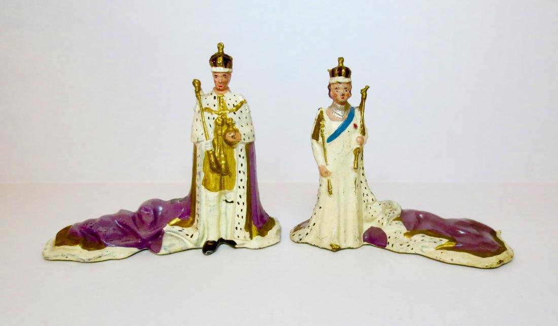 Britains #1473 and #1506 Coronation Figures