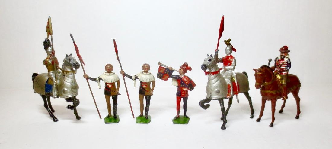 Britains Set #1258 Tournament Knights