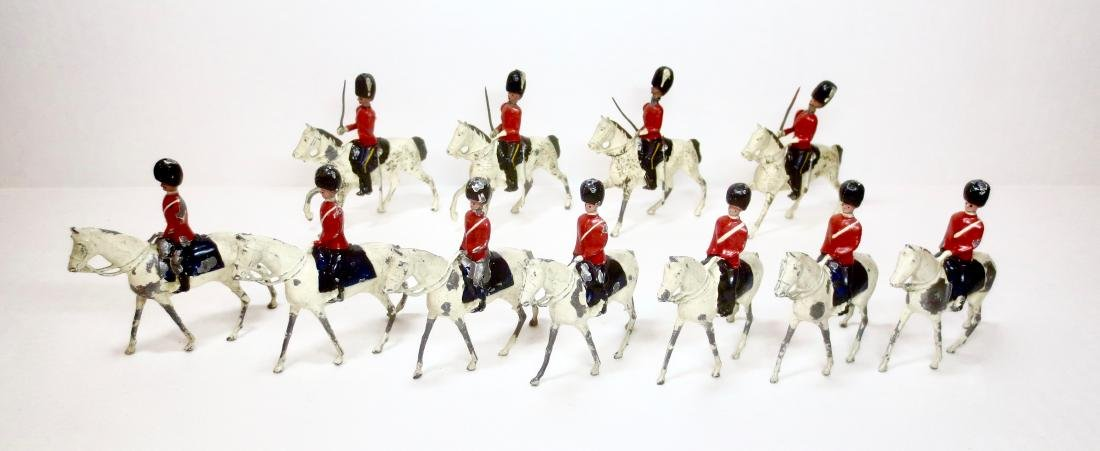 Britains Dragoons and Scots Greys Assortment