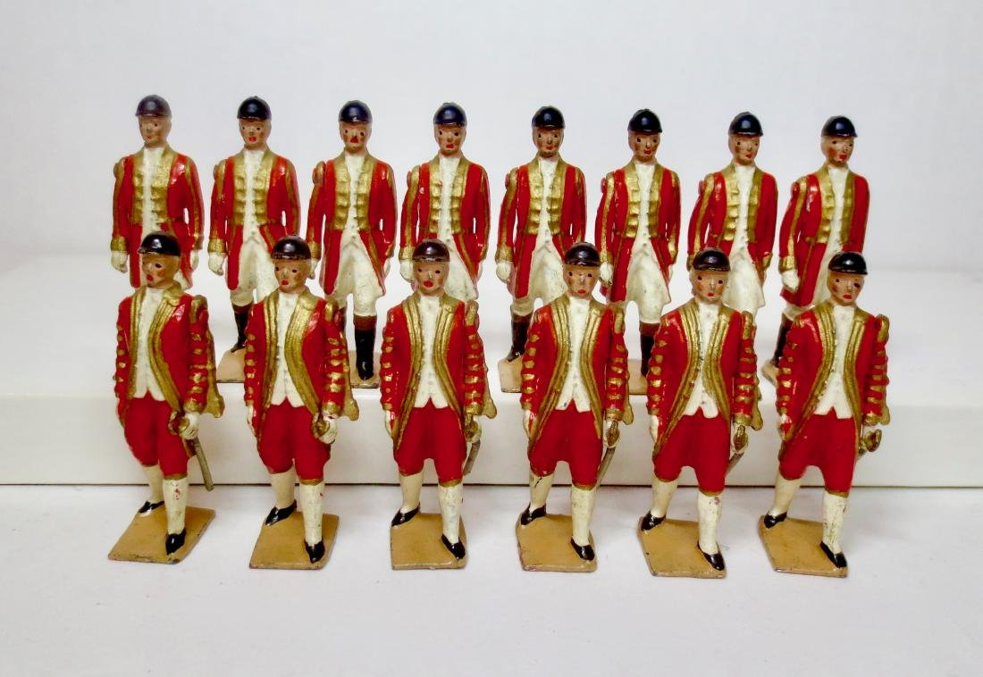 Britains From Set #1475 Coronation Attendants