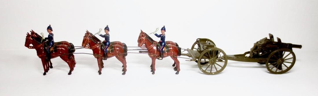 Britains Set #317 Royal Field Artillery at the Halt