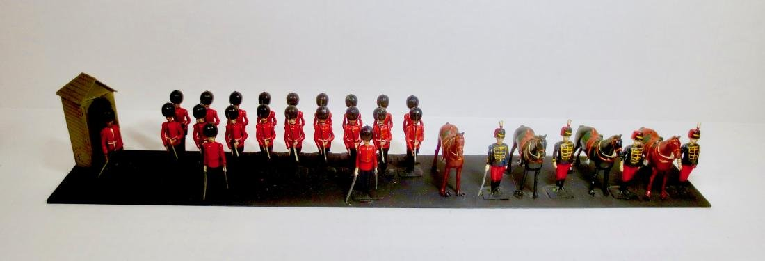 Britains Scots Guards Present Arms & Hussars